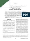 Trment of Mandibular Asymmetry by Distraction Osteogenesis and Orthodontics