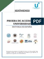 Historia de España PAU