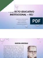 Proyecto Educativo Institucional – P