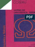Lições de Linguística Geral