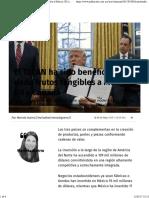 08-05-17 El TLCAN Ha Sido Benéfico y Ha Dado Frutos Tangibles a México, EU y Canadá