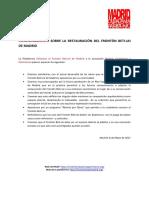 POSICIONAMIENTO sobre la restauración del Frontón Beti-Jai de Madrid (08/05/2017)