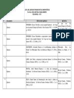 Lista Bibliografia Sobre Spinoza