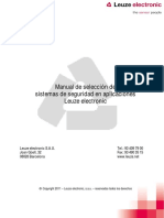 Manual de Seleccion de Seguridad Leuze Electronic