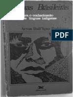 Línguas Brasileiras Para o Conhecimento das Línguas Indigenas