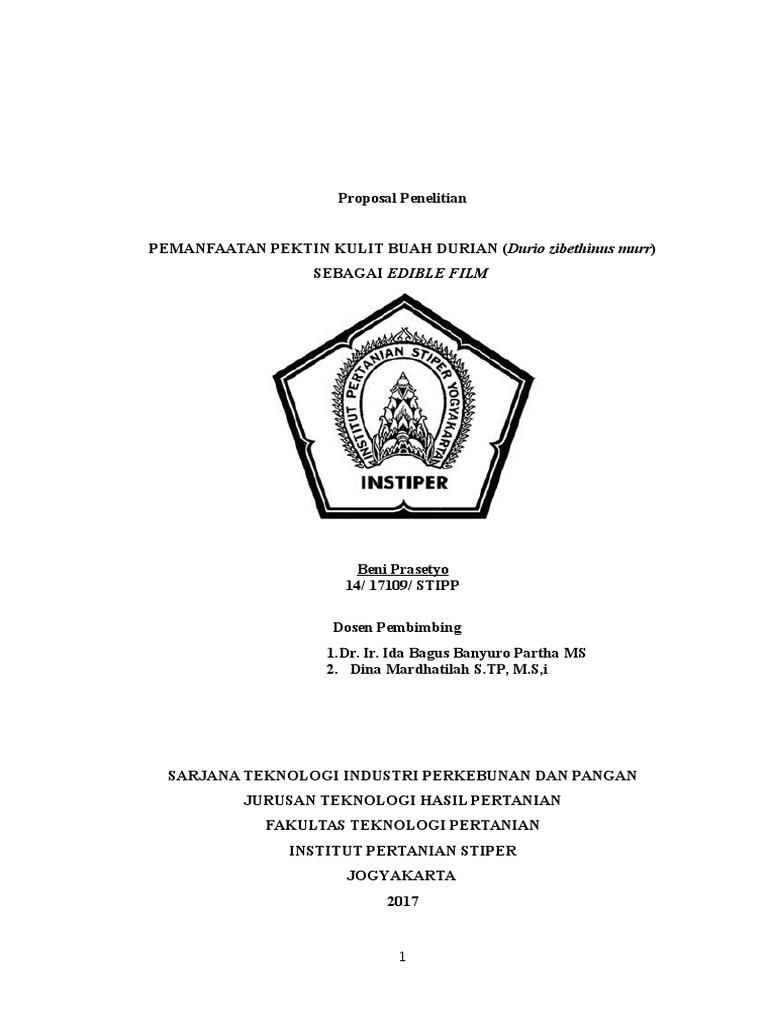 Proposal Bagian 1