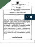 Decreto 2245 2011 Sancionatorio Dian