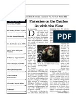 Fall 2001 Streamer Newsletter, Charles River Watershed Association