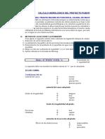 0 Cálculo del Tirante Máximo para Diseño de un Puente.xlsx