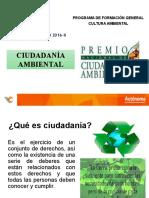 PPT 14 Ciudadanía Ambiental