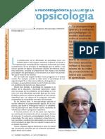 La evaluación psicopedagógica a la luz de la neuropsicología