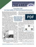 Summer 2007 Streamer Newsletter, Charles River Watershed Association