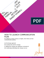 communication plan  1