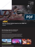 4K Live Production F55 Brochure