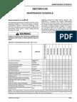 Plan de Mantenimiento Motor VHP