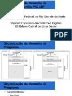 PIC 18 - Organizacao Da Memoria de Programa - Eli Edson Jr