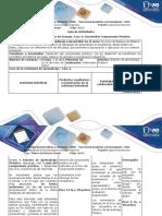 Guía de Actividades y Rúbrica de Evaluación Fase 4 - Desarrollo Componente Práctico