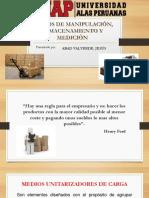Medios de Manipulaciôn, Almacenamiento ..Exposicion de Envases y Embalajes