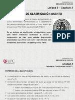 3.3 Clasificación AASHTO (MSD)