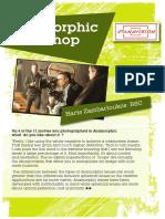 Anamorphic Workshop