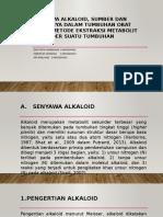 Senyawa Alkaloid, Sumber dan Perannya dalam Tumbuhan.pptx