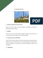 Fabricacion Azucar + Energia