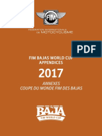 Reglamento FIM Bajas 2017