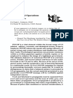 Psychological Operations-An Introduction