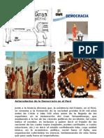 Democracia en El Perú