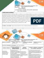 Guía de Actividades y Rúbrica de Evaluación - Fase 3 - Plan Estratégico