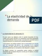 Elasticidad de La Demanda.