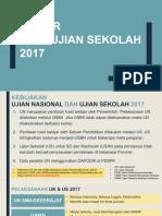 20170207 (v.5) Bahan Rakor Dinas - UN USBN 2017