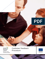 Customer Feedback Procedure Investni May 2010 Ccmu