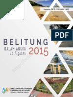 Belitung Dalam Angka 2015