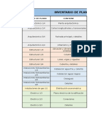 Inventario de Planos-diego Rodriguez
