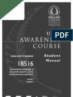 NZ USAR Awareness  Manual