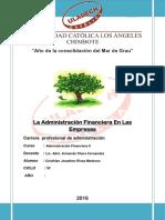 Administracion Finaciera en Las Empresas (1)