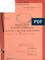 Mustang I - Allison v-1710 Engine