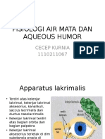 Fisiologi Air Mata Dan Aqueous Humor