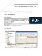 Rockwell EtherNet IP ControlLogix Free Tag Names