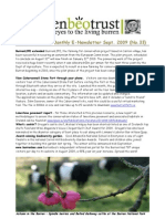 September 2009 Burrenbeo Trust Newsletter
