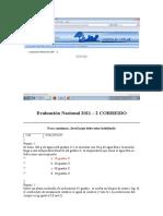 Evaluación Nacional 2011 CORREIDO