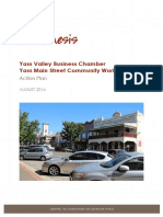 Yass Valley Main Street Action Plan Final August 2016
