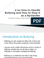 guide on how to handle bullying and how