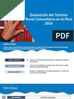 Uploads Mercados y Segmentos Segmentos 1020 Evaluación Turismo Rural Comunitario TRC 2015