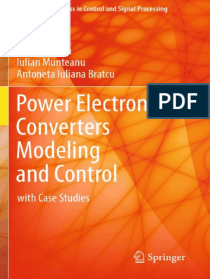 Power Electronic Converters Modeling and Control pdf | Power