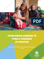 Overcoming Barriers to Family Planning in Pakistan