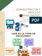Administracion y Proceso Adminitrativo