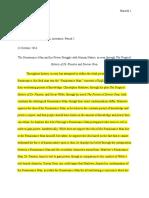 dr  faustus dorian gray essay