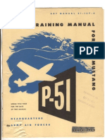 North American P-51 Mustang Pilot Training Manual